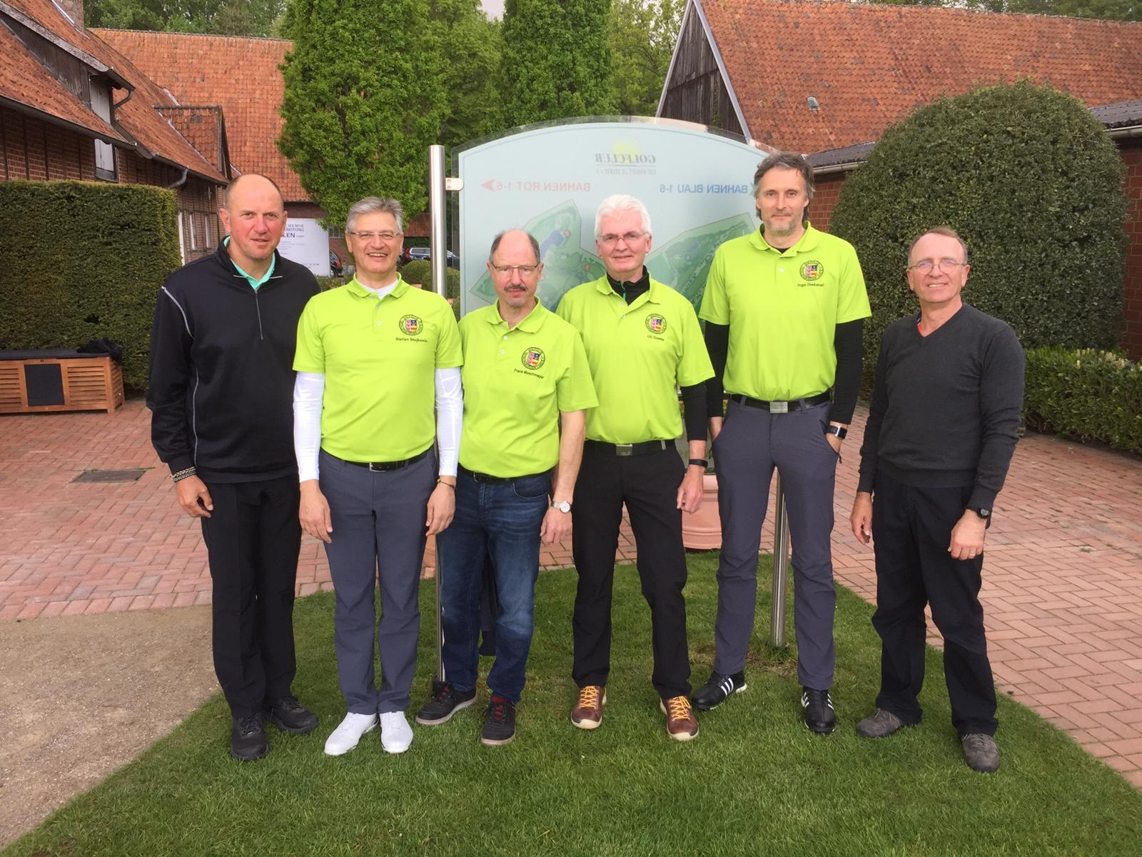 Superstart der Golf-Herren in die Ligaspiele 2019!