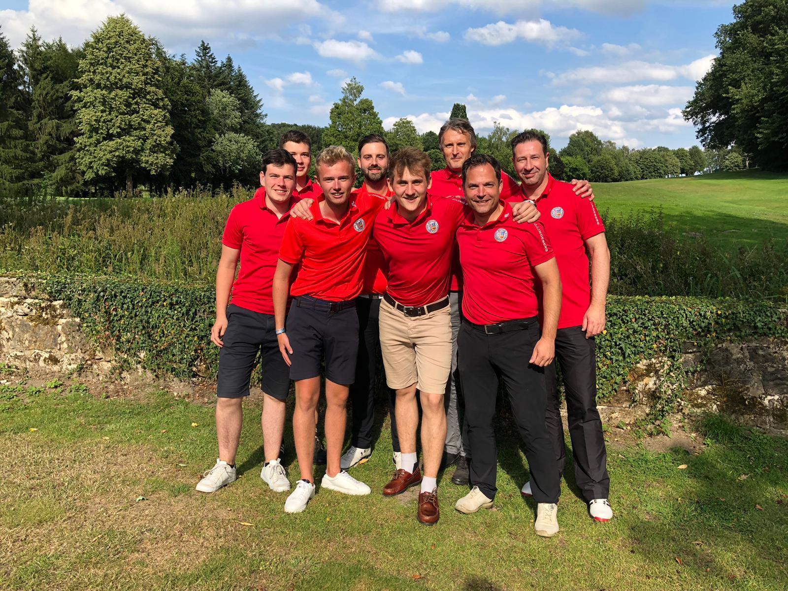 Tecklenburger Golf-Herren bauen Tabellenführung aus!